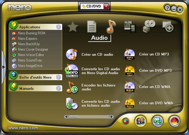 Запись дисков Nero 9 - одна из лучших программ для записи файлов